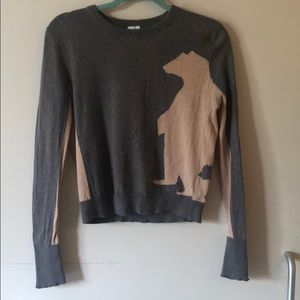 Polar bear pullover sweater from Anthropologie